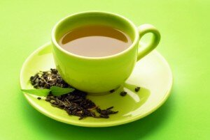 green tea antioxidants help repair sun damage